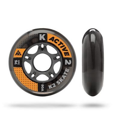 Колеса для роликов K2 76 mm Wheel 4-Pack - 2015 - 76 мм