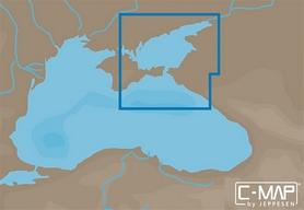 Карты C-MAP MAX-N  Азовское море, восточная часть Черного моря