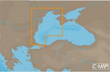 Карты C-MAP MAX-NЗападная часть Черного моря