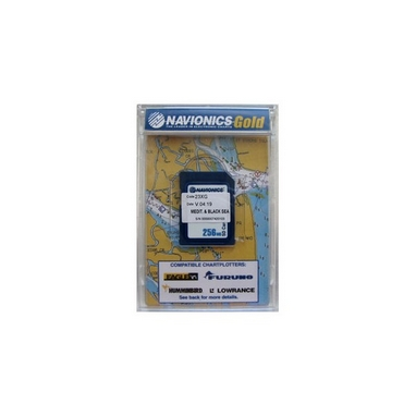 Карта устья Дуная NAVIONICS GOLD  ДУНАЙ 5G611S2 (только устье 100 км)