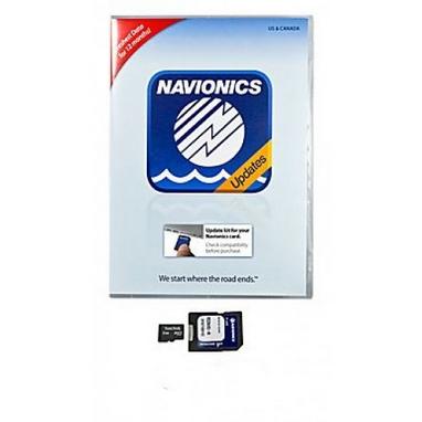 Обновление существующих карт Navionics Gold до уровня Navionics +