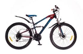 """Распродажа*! Велосипед горный Formula Blaze AM2 14G DD 26"""" St черно-красный с синим 2016"""