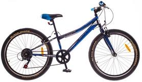 """Велосипед горный Formula Compass 14G Vbr 24"""" 2016 синий рама 12"""""""