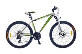 "Велосипед горный SKD Optimabikes Thor AM DD Al 2015 26"" бело-зеленый, рама - 17"""
