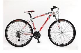 """Велосипед горный Optimabikes Bigfoot AM Vbr Al 29"""" SKD 2015 бело-красный рама - 19"""
