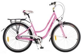 "Велосипед городской Optimabikes Venezia Planetary hub HLQ Al 26"" 2014 розовый рама - 16"