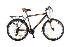 """Велосипед городской Optimabikes Watson HLQ AM Al 26""""  2014 с багажником черный рама - 21"""