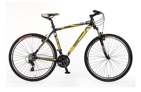 """Велосипед горный Optimabikes Bigfoot AM Vbr Al 29"""" SKD 2015 черно-желтый рама - 19"""