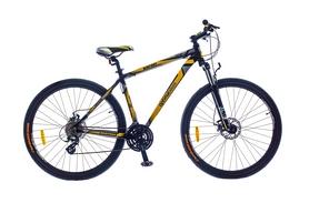 """Велосипед горный Optimabikes Bigfoot AM Vbr DD 29"""" SKD 2015 черно-желтый рама - 21"""