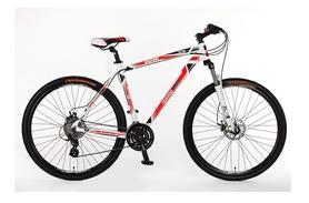 """Велосипед горный Optimabikes Bigfoot AM Vbr DD 29"""" SKD 2015 бело-красный рама - 21"""
