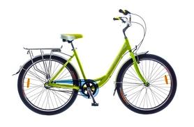 "Велосипед городской Optimabikes Vision Planetary HUB Al 26"" SKD 2015 зеленый рама - 18"