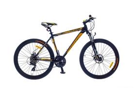 """Велосипед городской SKD Optimabikes Thor AM DD Al 2015 26"""" черно-желтый рама - 19"""