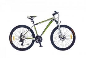 "Велосипед горный SKD Optimabikes Thor AM DD Al 2015 26"" бело-зеленый, рама - 19"""