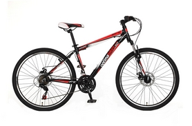 """Велосипед горный Optimabikes F-1 AM DD Al 26"""" SKD 2015 бело-красный рама - 16"""