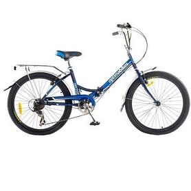 """Велосипед городской складной Optimabikes Vector St 20"""" 2014 синий рама - 15"""