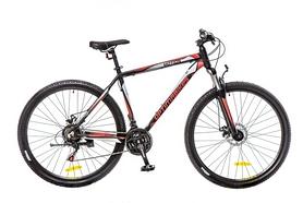 """Велосипед горный Optimabikes Motion AM 14G DD Al 29"""" 2016 черно-красно-белый (м) рама - 20"""