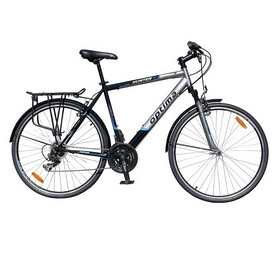 "Велосипед городской Optimabikes Hunter AM St 28"" 2014 синий, рама - 16"""