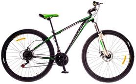 """Велосипед горный Formula Dragonfly AM 14G DD St 29"""" чёрно-салатовый 2016 рама – 16"""""""