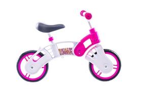 """Беговел детский 10"""" Small Rider Pl 2014 бело-розовый"""