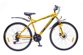 """Велосипед горный Discovery Trek 14G DD St 26"""" жолто-серо-черный 2016 рама-18"""""""