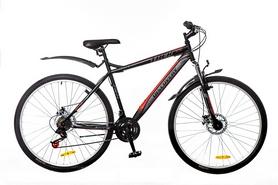 """Велосипед горный Discovery Trek AM 14G DD St 29"""" черно-серо-красный 2016 рама – 19"""""""
