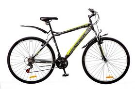 "Велосипед горный Discovery Trek AM 14G Vbr St 29"" черно-серо-зеленый 2016 рама – 18"""