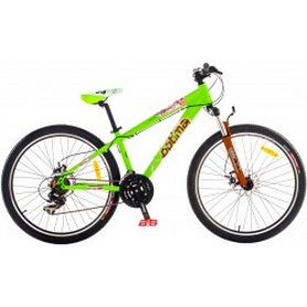 "Велосипед в коробке Optimabikes Beast HLQ AM DD Al 26"" 2014  зеленый рама 21"""