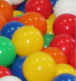 Фото 2 к товару Шарики мягкие для сухих бассейнов 8 см