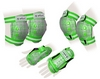 Защита спортивная детская Zel SK-4678G Candy (наколенники, налокотники, перчатки) зеленая - фото 1