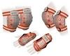 Защита спортивная детская Zel SK-4678OR Candy (наколенники, налокотники, перчатки) оранж - фото 1