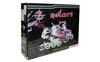 Коньки роликовые раздвижные ZEL Z-809P розовый - фото 3