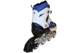 Фото 2 к товару Коньки роликовые раздвижные ZEL Z-823B синий