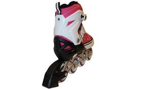 Фото 2 к товару Роликовые коньки раздвижные ZEL Z-823P розовые