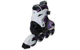 Фото 2 к товару Роликовые коньки раздвижные ZEL Z-9004V Element фиолетовый