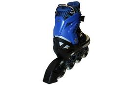 Фото 2 к товару Коньки роликовые раздвижные ZEL Z-9001B Foliage синие