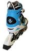 Коньки роликовые раздвижные ZEL Z-600B синие - фото 3