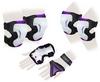 Защита спортивная для взрослых Zel SK-4677V Grace (наколенники, налокотники, перчатки) фиолетовая - фото 1