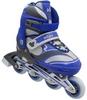 Коньки роликовые раздвижные ZEL Z-608B Enjoyment синие - фото 1