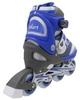 Коньки роликовые раздвижные ZEL Z-608B Enjoyment синие - фото 3