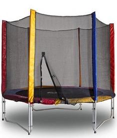 Фото 1 к товару Батут с защитной сеткой Kidigo 244 см