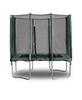 Батут с защитной сеткой Kidigo 215х150 см - фото 1