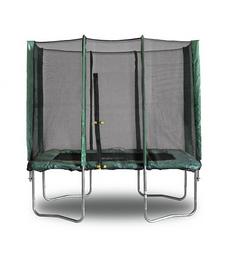 Батут с защитной сеткой Kidigo 215х150 см
