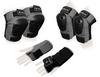Защита спортивная для взрослых Zel SK-4680GR Metropolis (наколенники, налокотники, перчатки) серая - фото 1