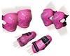 Защита для катания детская (комплект) Zel SK-4679P Lux розовая - фото 1