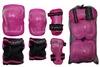 Защита для катания детская (комплект) Zel SK-4679P Lux розовая - фото 2