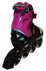 Коньки роликовые раздвижные Zel Foliage Z-9001P розовые - фото 2