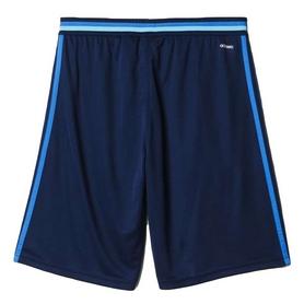 Фото 2 к товару Шорты футбольные Adidas CON16 TRG SHO синие