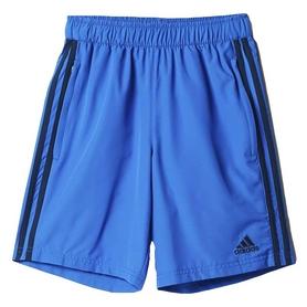 Фото 1 к товару Шорты футбольные детские Adidas CON16 WOV SHO Y синие