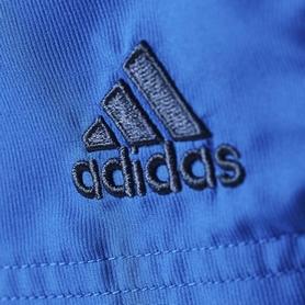 Фото 3 к товару Шорты футбольные детские Adidas CON16 WOV SHO Y синие