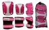 Защита для катания (комплект) Zel Perfection SK-4685PW розово-белая - фото 2